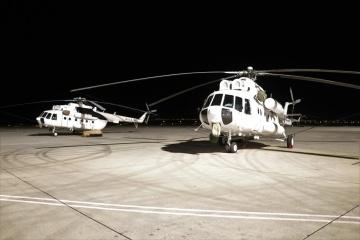 Можуть гасити пожежу у горах вночі: до Туреччини прибули чотири українські гелікоптери
