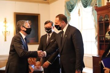 Kouleba et Yermak aux États-Unis ont discuté du travail de la plateforme pour la Crimée après le sommet