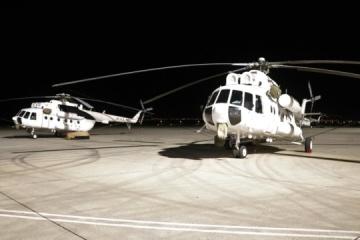 Vier ukrainische Hubschrauber löschen Waldbrände in der Türkei