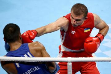 ボクシング男子ミドル級 ヒジニャクが銀メダル=東京五輪