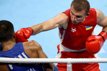 JO de Tokyo : Khyzhniak remporte l'argent en boxe poids moyen
