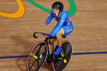 自転車女子スプリント、スタリコヴァが銀メダル=東京五輪