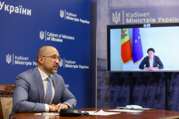 Shmygal trata con la primera ministra moldava sobre la incorporación a la red ENTSO-E