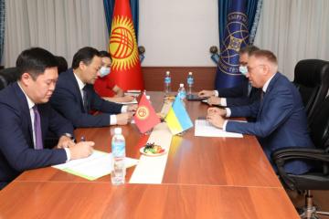 Ukrainian ambassador, Kyrgyz FM discuss ways to increase trade between countries