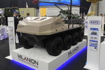 Ukrainian Armor becomes dealer of fully amphibious UGVs
