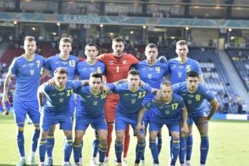 Ukraine 25th in FIFA ranking
