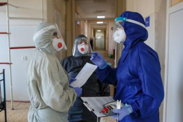 Coronavirus : 3 869 cas supplémentaires recensés en Ukraine en 24 h