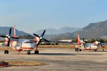 Ukrainische Löschflugzeuge kehren aus Türkei zurück