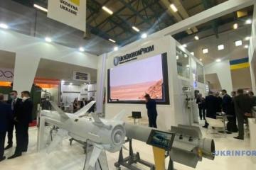 Ukrainian delegation begins visit to IDEF 2021 arms exhibition in Turkey