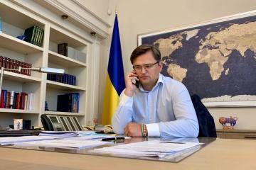 Ministros de Exteriores de Ucrania e Israel discuten el intercambio de visitas de alto nivel