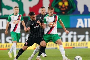 Europa League Playoff: Sorja Luhansk verliert gegen Rapid