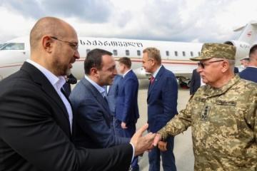 Georgiens Regierungschef Gharibaschwili in Kyjiw eingetroffen