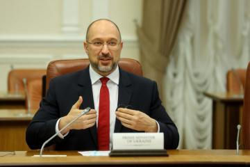 Schmyhal trifft sich mit seiner moldauischen Amtskollegin