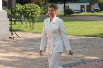 La Première Dame de l'Ukraine a inauguré le Sommet des Premières Dames et Premiers Messieurs de Kyiv