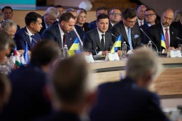 Volodymyr Zelensky : La Plateforme pour la Crimée doit obliger la Russie à négocier sur la restitution de la Crimée
