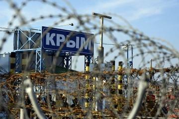 Straty z powodu okupacji Krymu przez Rosję szacuje się na ponad 100 miliardów dolarów - Szmyhal
