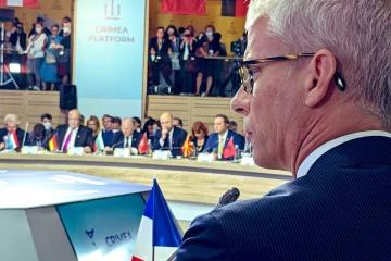Franck Riester : La France ne reconnaît pas et ne reconnaîtra pas l'annexion illégale de la Crimée