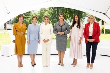 Primeras damas de diferentes países lanzan una plataforma internacional