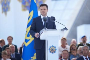 Volodymyr Zelensky : L'Ukraine récupèrera ce que lui appartient