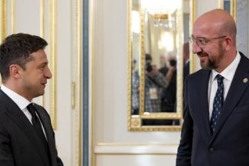 Zelensky trata con Michel la cooperación en el marco de la Plataforma de Crimea