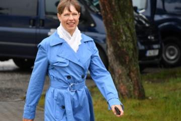 Kaljulaid: UE debería crear un formato para tres Estados que aspiran a convertirse en miembros de la UE
