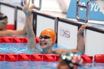 Yelyzaveta Mereshko wins Ukraine's first gold medal at 2020 Paralympics