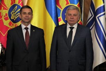 Taran meets with Moldova's defense minister in Kyiv