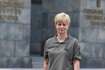 Ukraine Army sees first woman brigadier general
