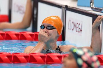 Nadadora Mereshko establece un récord paralímpico mundial