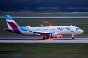 Deutsche Billigfluggesellschaft Eurowings fliegt ab September in die Ukraine