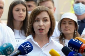 Sandu: Los esfuerzos de Moldavia y Ucrania para unirse a la UE ayudarán a construir un futuro mejor