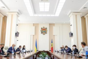 Schmyhal und Gavrilița erörtern Entwicklung bilateraler Beziehungen