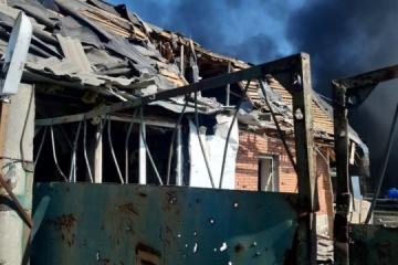 Invaders mortar Avdiivka's civilian infrastructure