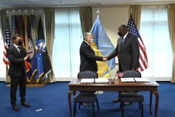 Verteidigungsministerien der Ukraine und der USA signieren Abkommen über Forschungsprojekte