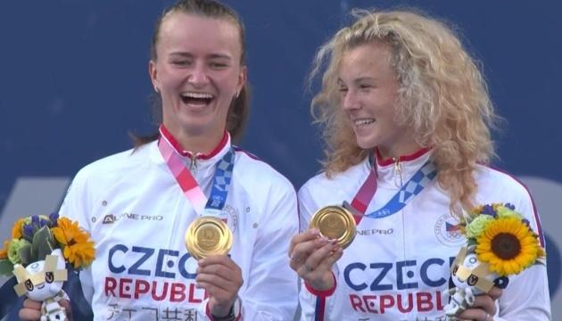 Чешские теннисистки выиграли парный разряд Олимпиады-2020