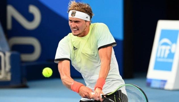 Теннис: Александр Зверев из Германии выиграл одиночный финал Игр-2020