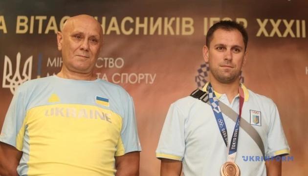 Бронзовий призер Олімпіади Рейзлін повернувся додому