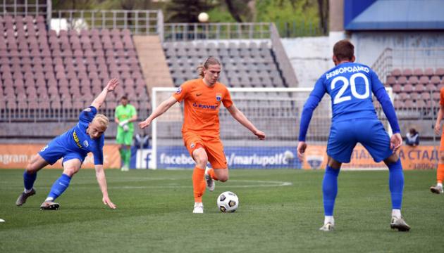 «Десна» вирвала перемогу у «Маріуполя» в чемпіонаті України
