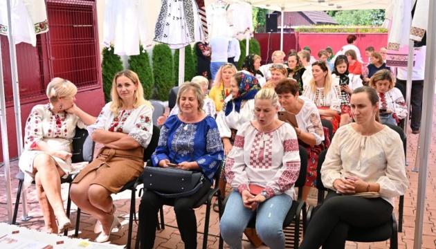 У Румунії діаспора провела День української вишиванки