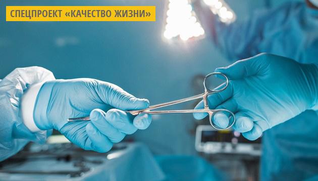 В Черкассах провели первые операции по трансплантации сердца и почек