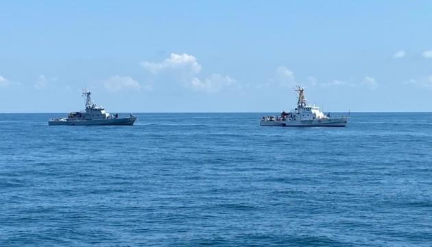 Ukraine, Georgia navies take part in PASSEX joint exercise in Black Sea
