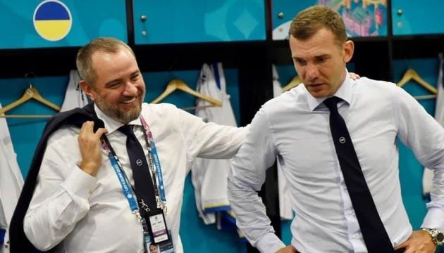Павелко не виключає, що Шевченко повернеться тренувати збірну