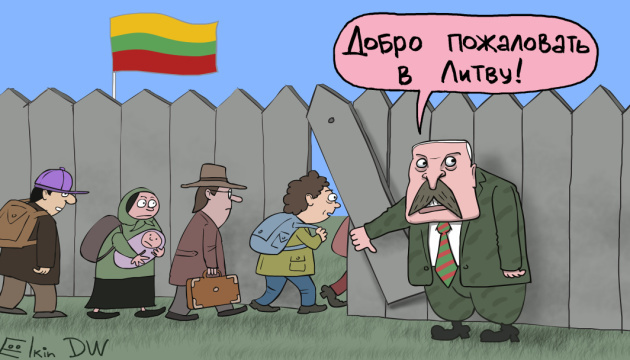 Migrants as weapons: Lukashenko's hybrid attack on Lithuania and EU