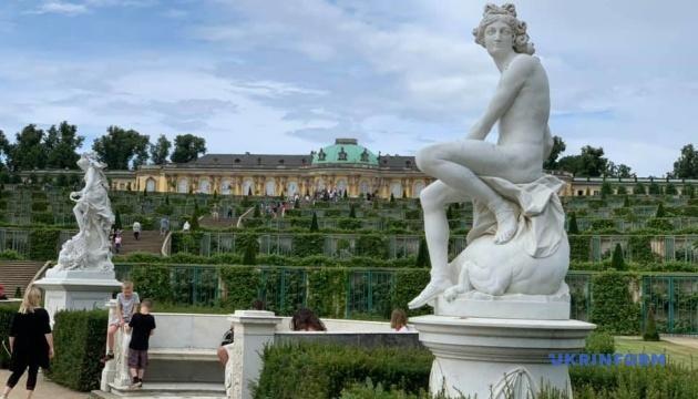 Україномовний аудіогід запустили у знаменитому німецькому палаці Сансусі