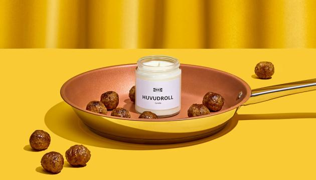 IKEA випустила свічки з ароматом шведських фрикадельок