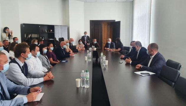 Немчінов представив колективу АРМА тимчасового керівника