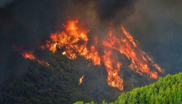 У Греції під час гасіння пожежі розбився літак