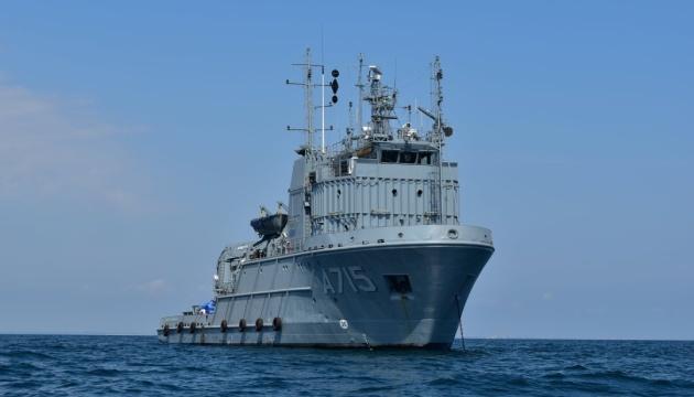 «Дайв-2021»: у Чорному морі тренуються з новітнім водолазним спорядженням