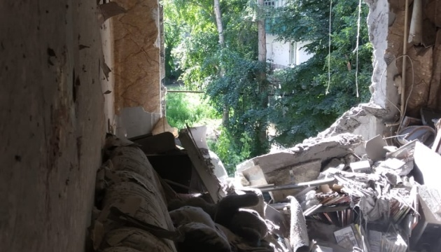 Ukrainian side of JCCC shows impacts of Krasnohorivka shelling by invaders