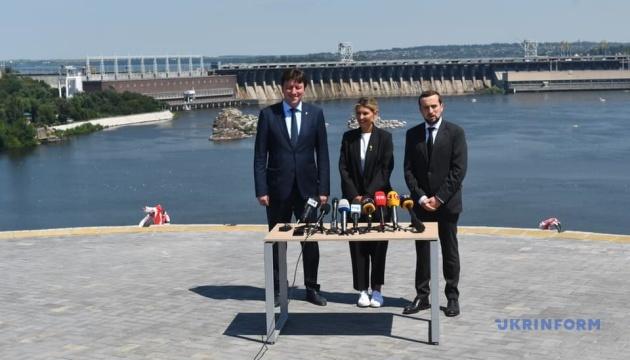Відкриття мостових переходів у Запоріжжі відбудеться уже цього року